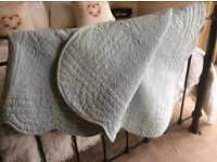 Laura ashley quilted throw