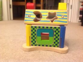 Hamleys Wooden Puzzle House