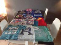 Boys t-shirts & hoodies aged 4-5 years.