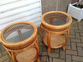 Conservatory tables and chairs