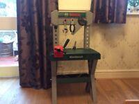 Children's Bosch Work/Tool Bench - with box