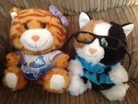 Build a bear smallfrys cats x2 with outfits