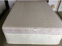 Double divan bed with drawers
