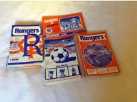 Rangers football programmes from mid 1970s £15