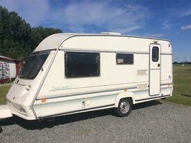 Abi Dalesman 4 berth caravan and awning