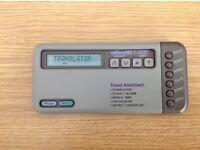 Rare Olivetti T-601 Travel Assistant/Translator/Calculator