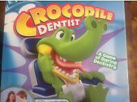 BNIB HASBRO crocodile dentist game