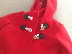 John Lewis duffle coat - size 3