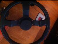 Gt turbo Renault 5 steering wheel and boss kit £30