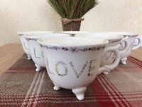 """NEXT"" Love cups/mugs"
