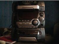 Panasonic cd stacking system.£70.00