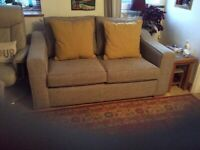 "Two seater sofa for sale ""hardly used"""