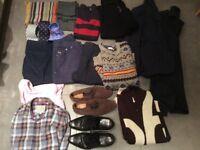 Men's clothes bundle 15+ items incl. top brands and shoes