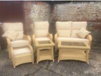 Rattan conservatory furniture £800 ono