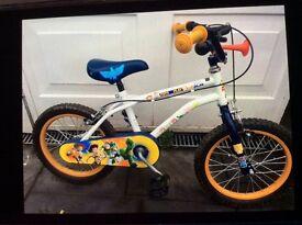Child's 16 inch bike