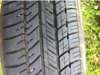 VW Polo or Golf spare wheel with Michelin tyre with little wear
