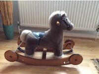 Ideal xmas present. Mamas & papas rocking horse vgc