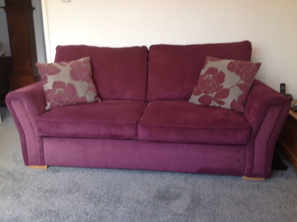New Price,Sofa Bed & Chair,very good condition,pull out action,