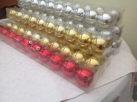 Coloured Christmas balls