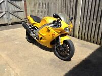 TRIUMPH DAYTONA T595 IN YELLOW WITH FULL DOCUMENTED HISTORY