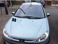 Peugeot 206 LX for sale . Very Good Condition and Excellant runner. Ideal first or small family car.