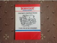 Thornycroft Owner's Instruction Manual