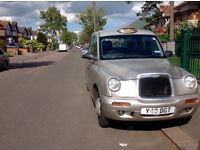 London Taxi TX1 Metallic Silver Second Owner from New