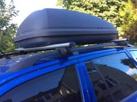 Halfords 320l Roof Box with Universal fixing system