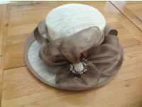 Special occasion coffee/cream hat