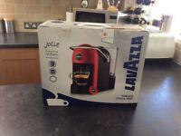 LAVAZZA JOLIE COFFEE MACHINE : WHITE (UNWANTED GIFT)