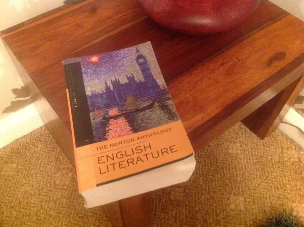 English language / literature degree books x 8