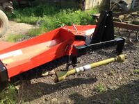 PTO Rear Mounted Sweeper/Brush. BRAND NEW
