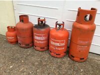 Calor Propane Cylinders with Gas