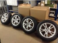 Audi Original Parts Alloys and Winter Tyres.