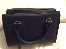 Navy blue Zara handbag, excellent condition