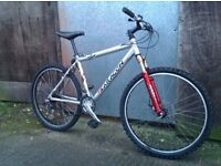 Saracen rufftrax Mens hardtail mountain bike