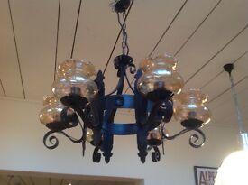 Spanish chandelier light fitting