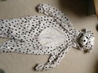 Dalmatian 'party animals' children's costume suitable for 5-8 year olds