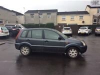 FORD FUSION 03 REG. MOTD MAY. £275. DRIVES AWAY.