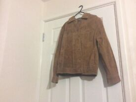 Sued jacket