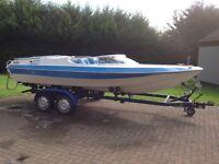 Speed boat dateline bounty 3ltr inboard jet drive
