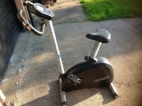 Reebok exercise bike with monitor