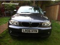 BMW 1 Series 2006 2.00 Diesel TDI 5 Door Bright Grey HPI Clear. Full Service History.
