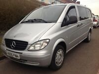 2005 Mercedes Vito- Long Wheel- 2 Owners- 8 SEATER