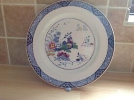 6 Booths ' Netherlands' silicon china dinner plates