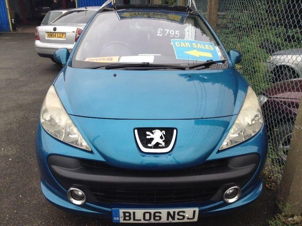 peugeot 207 sport @ aylsham road affordable cars norwich, norfolk