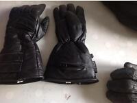 Ladies Gauntlet motorcycle gloves