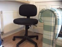 Office Chair Black height adjustable