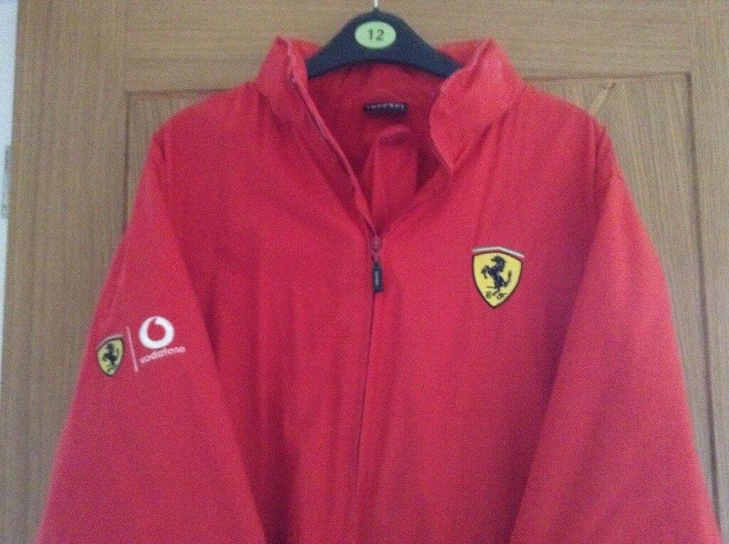Ferrari Red Ladies Jacket
