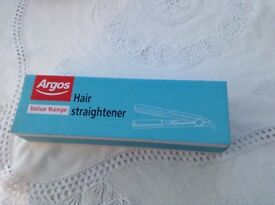 Hair straighteners new and sealed in box